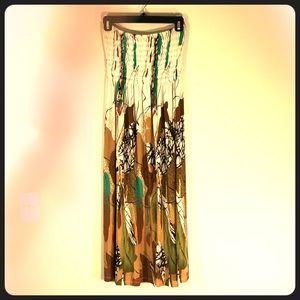 CristinaLove XL Strapless Beach/Summer Dress